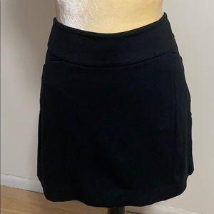 WHBM Stretchy Black Skirt